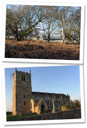 Skipwith Common & St. Helens Church